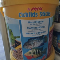 Sera cichlids sticks 10л