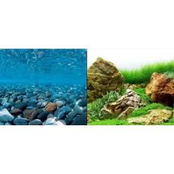Горная река/зелёное море 60 см